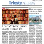 Biblio Pride 2015, piazza Volontari giuliani diventa l'isola dei libri
